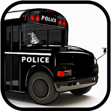 Police Bus driving games