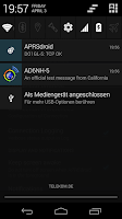 Screenshot of APRSdroid - APRS Client
