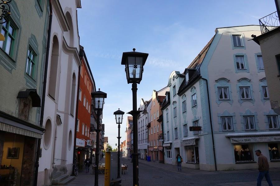Пешеходная улица Райхенштрассе
