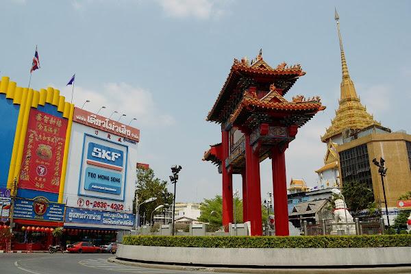 ворота чайна таун китайский квартал