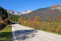 Passo Croce d'Aune (1015m), Ostrampe.