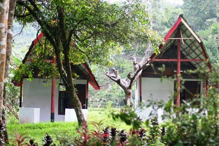 fasiliitas villa di air terjun liawan mamasa sulawesi barat