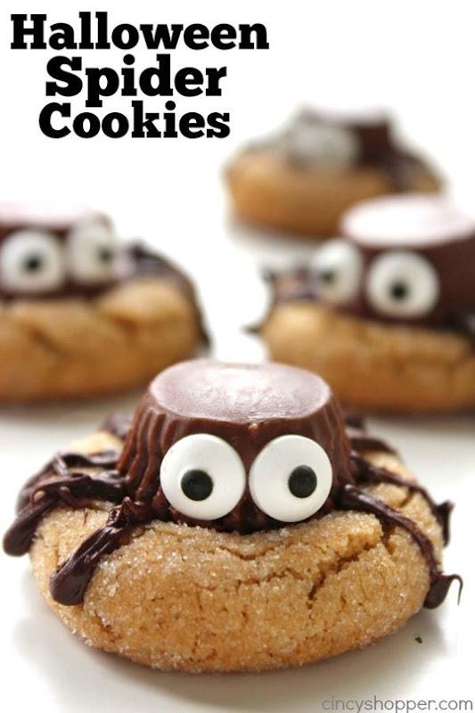 Halloween Spider Cookies @ Cincy Shopper