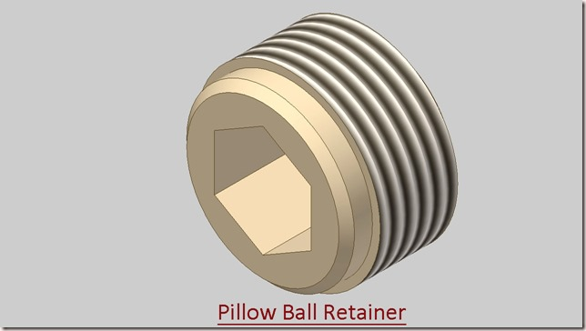 Pillow Ball Retainer