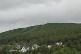 Nabij de staafkerk in Dombås