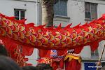 Le corps du dragon rouge