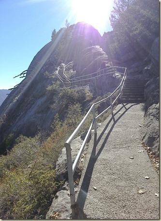 Sequoia NP Climbing Moro Rock_25