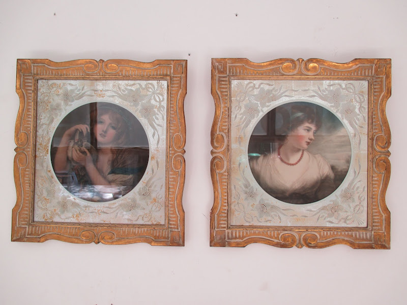Victorian Portrait Pair