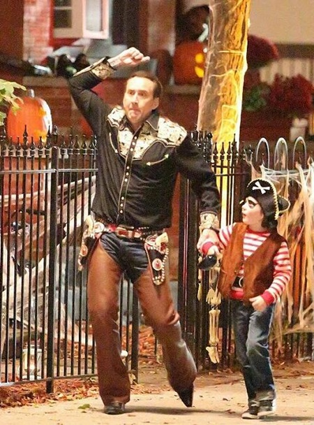 Nicolas Cage in Pay The Ghost