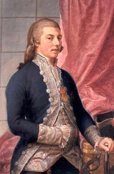 Manuel Godoy, retrato de 1790 por Francisco Bayeu