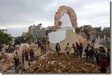 Quelle che rimane della torre Dharahara