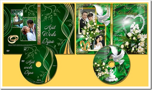Edit Your Free Pictures: Wedding Dvd Case And Cd Cover Templates Psd