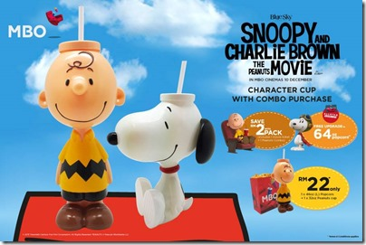 MBO The Peanuts Movie Charlie Brown and Snoopy Cup 02
