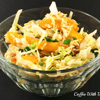 Asian Cabbage Salad with Mango