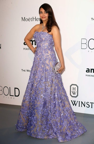 Aishwarya Rai Bachchan attends amfAR's 22nd Cinema Against AIDS Gala1