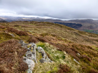 Along the Muncaster Fell ridge