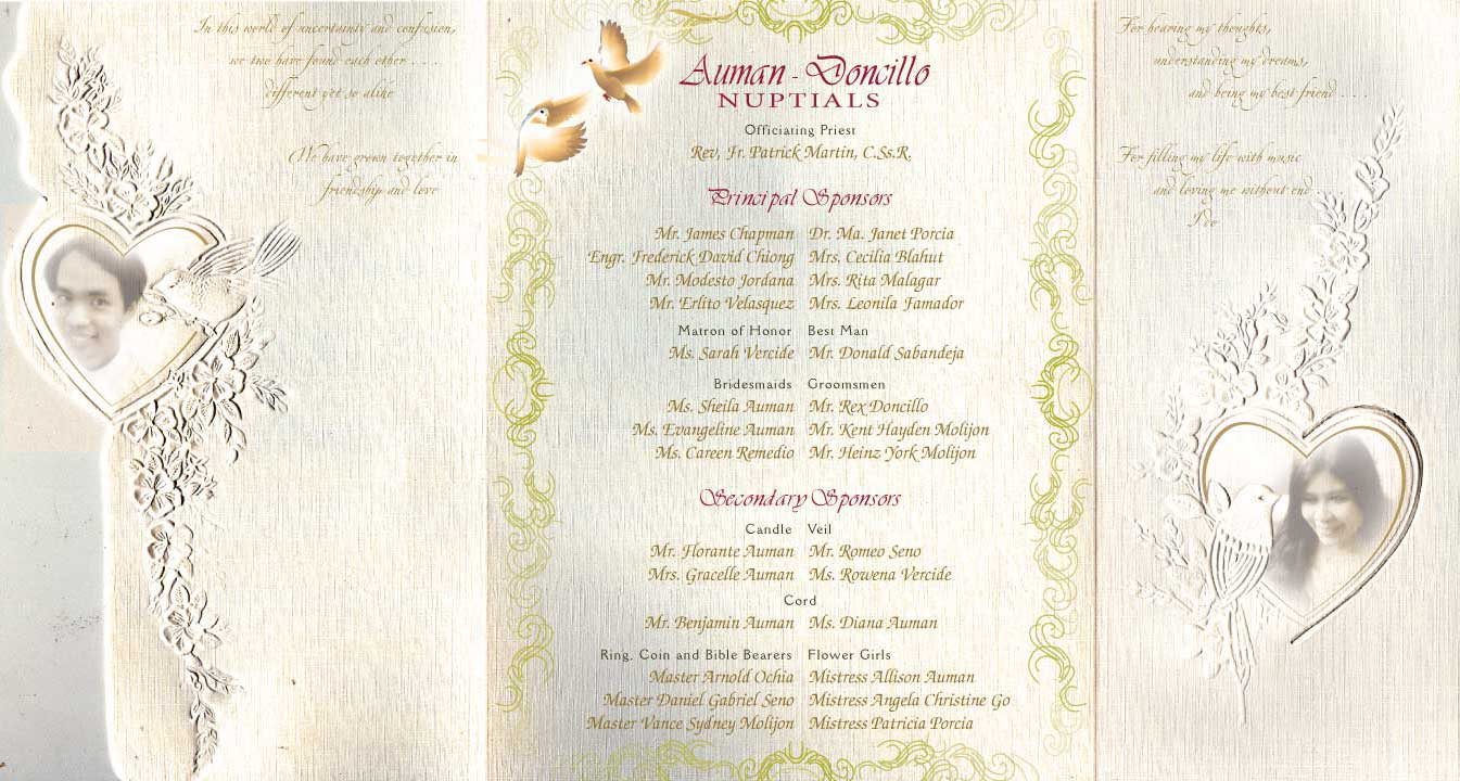 nikah wedding invitation