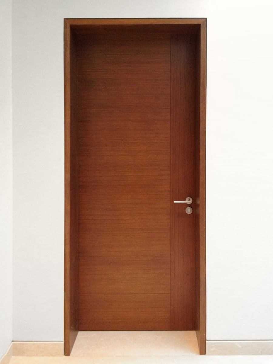 Puertas de madera puertas de madera para interiores for Modelo de puertas para habitaciones modernas