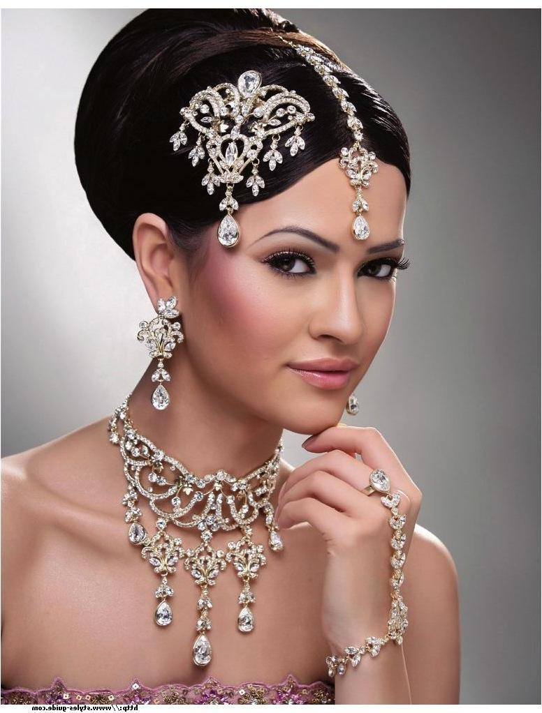 For Indian wedding hairstyles