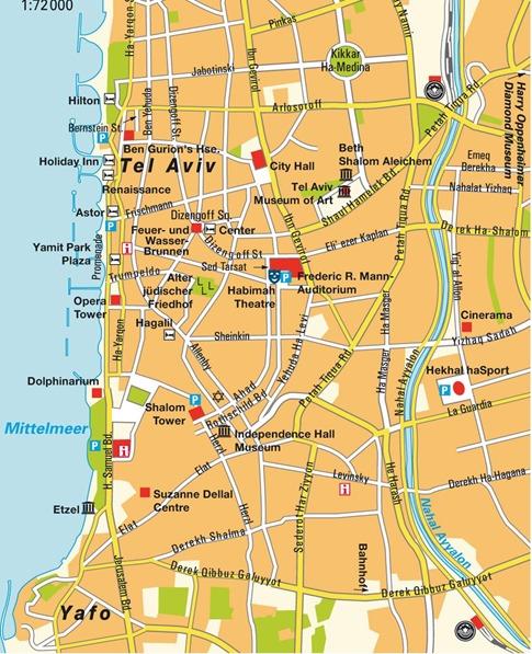 map-of-tel-aviv