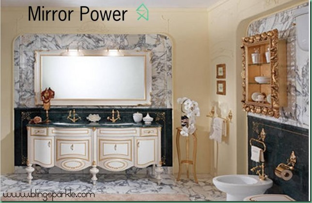 Large mirror and their power in your bathroom