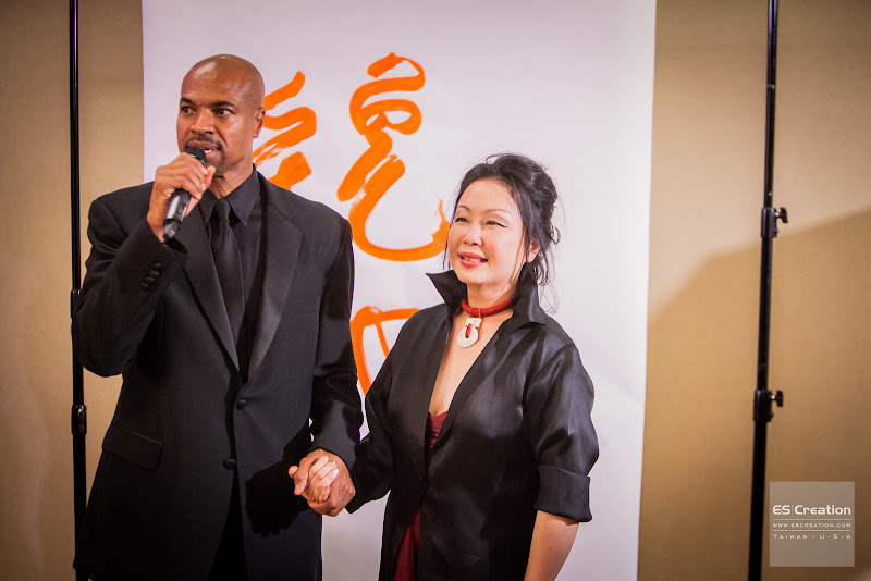 Charleston Pierce and Monique Zhang. Photo by Simon Fu of ES Creation.