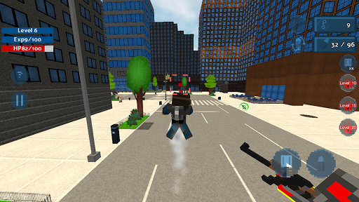 Police Block City For PC