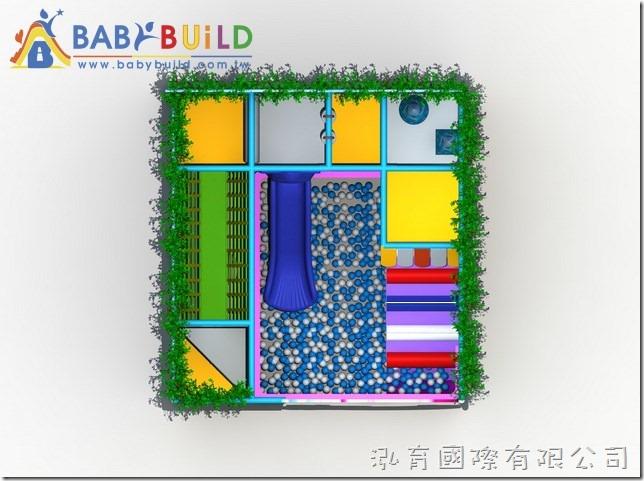BabyBuild 3D泡棉鋼管兒童遊具
