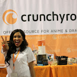 crunchyroll at Anime North 2014 in Mississauga, Ontario, Canada