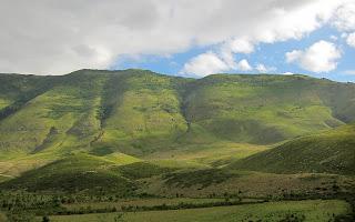 Orikum - Karaburuni mountains.