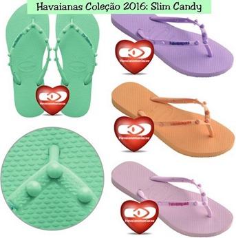 SLIM candy havaianas