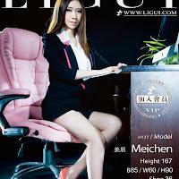 LiGui 2013.12.01 网络丽人 Model 美辰 [38P] cover.jpg
