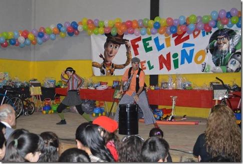 Los niños del partido compartieron su jornada con globos, inflables, música, magos, payasos, disfraces, sorteos, juegos, espectáculos y muchísimas actividades al aire libre