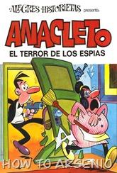 Alegres Historietas 23 Anacleto 06 El terror de los espias