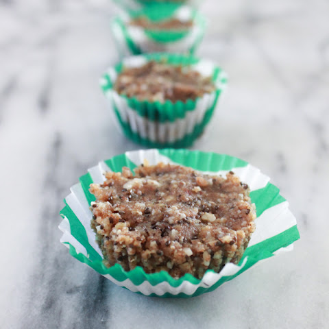 Raw Nutty Seed Cupcakes.