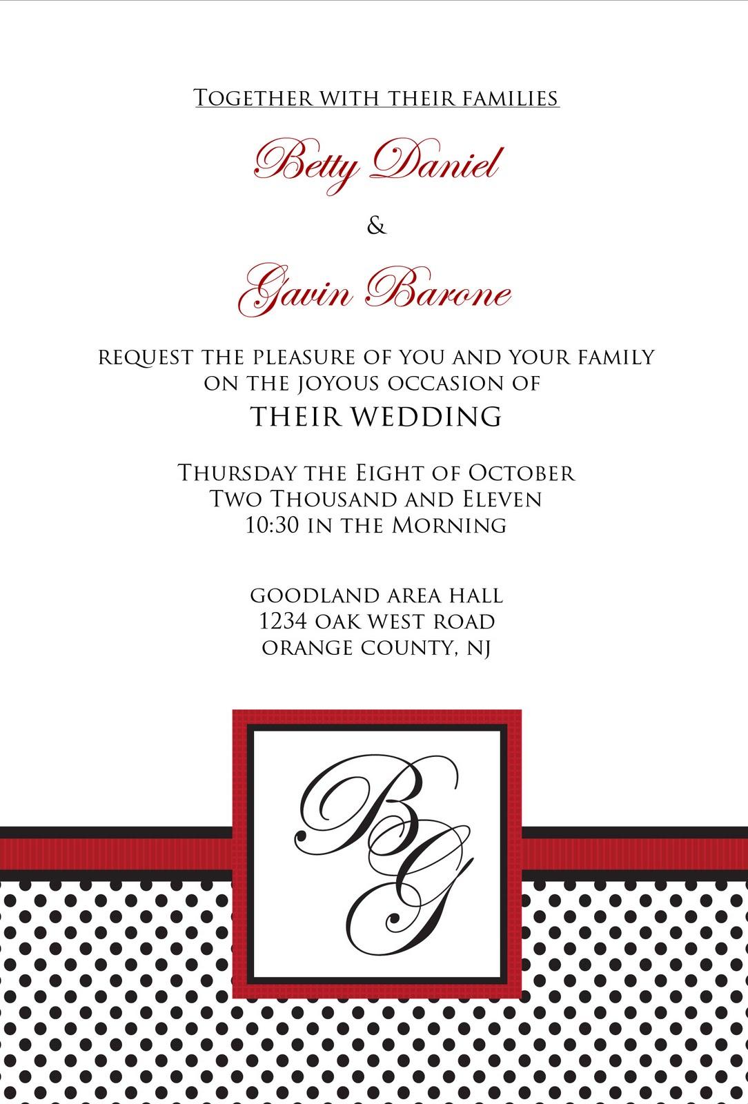 Karlee\'s blog: black white red wedding