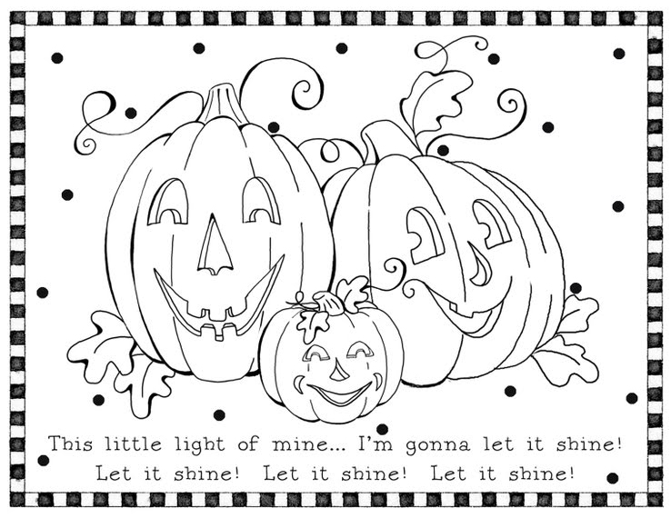 Halloween coloring pages on Pinterest For Kids, Coloring  - pumpkin halloween coloring pages