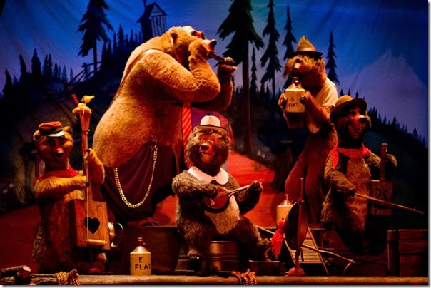 Country Bear Jamboree Show at Magic Kingdom