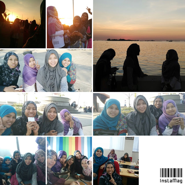 Hangout with friends Catatan Evhy