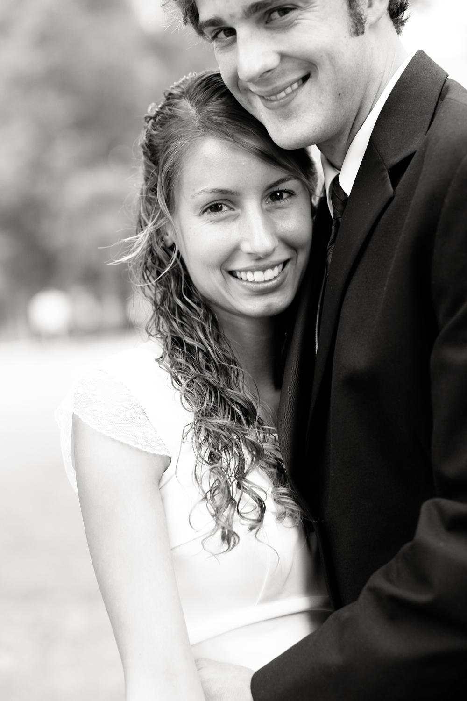 Melissa was a gorgeous bride!