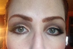 wearing L'Oreal Voluminous Superstar Mascara