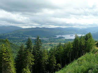 Keswick & Derwentwater from Long Doors