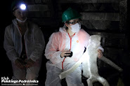 Kasia z podziemnym stworem w Kopalni GUIDO