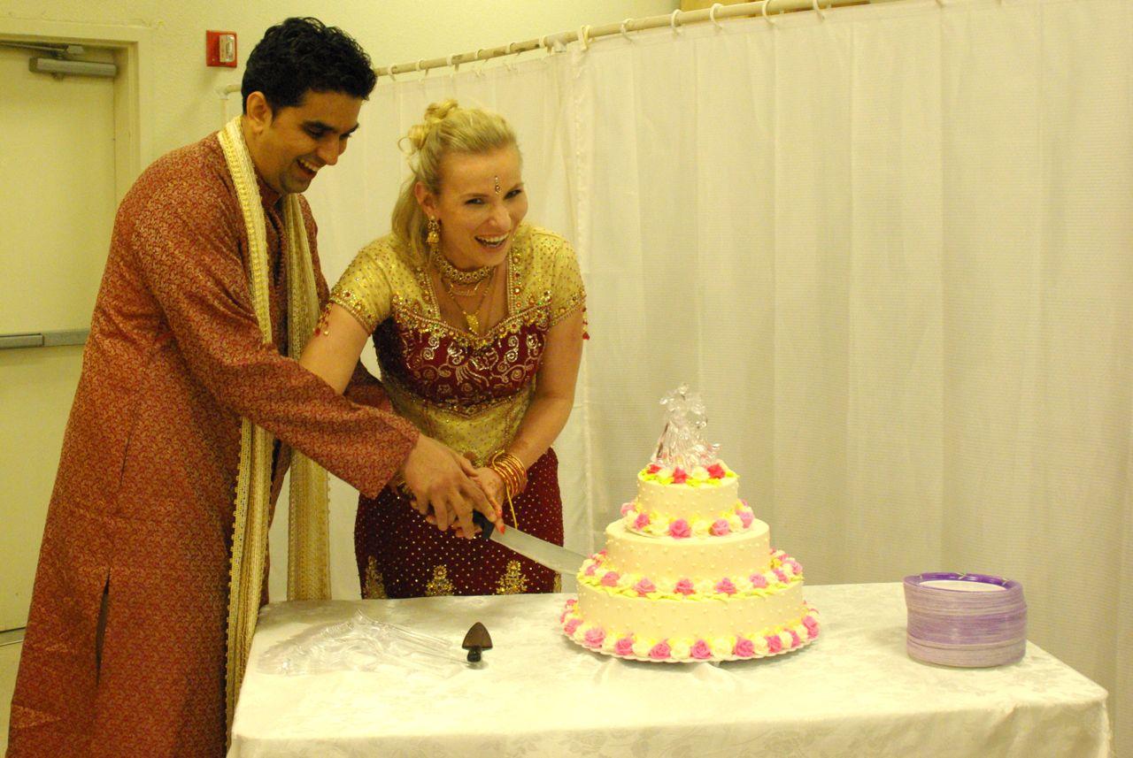 My Indian Wedding - Cake