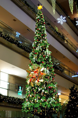 表参道ヒルズのクリスマスイルミネーション2015