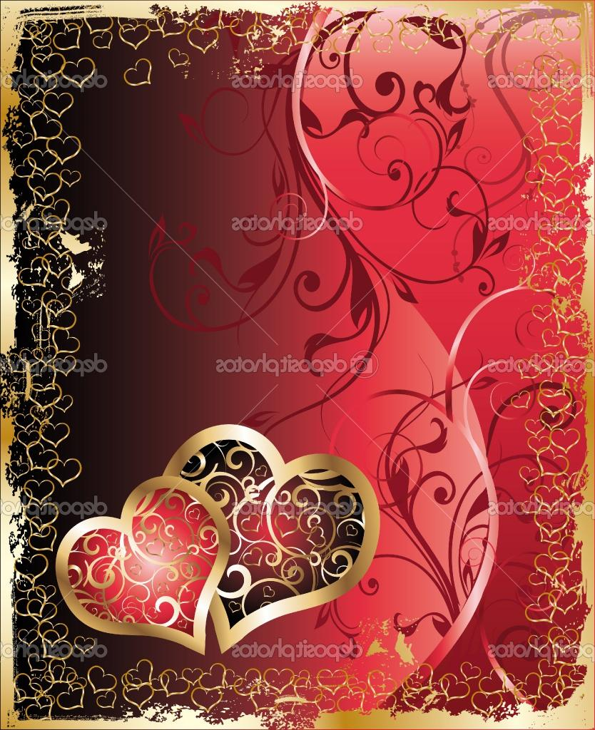 Valentine  s and wedding card