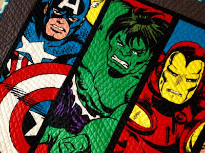 The Quilting Edge: 16 Corners Later.....The Super Hero Quilts are Done : superhero quilts - Adamdwight.com