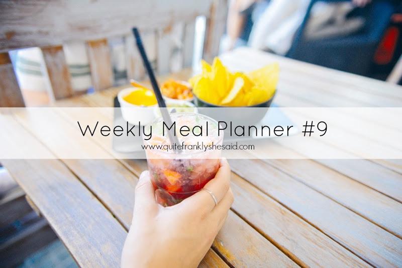 weekly meal planner 9