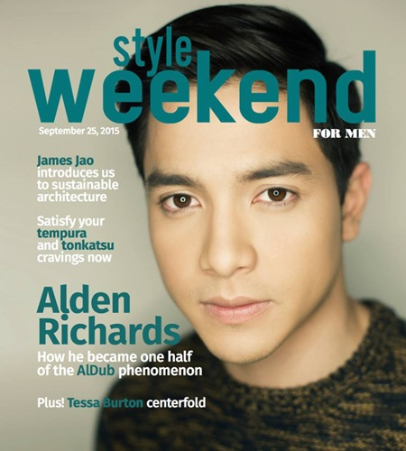 Alden Richards for Manila Bulletin Style Weekend