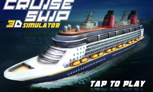 Cruise Ship 3D Simulator for pc